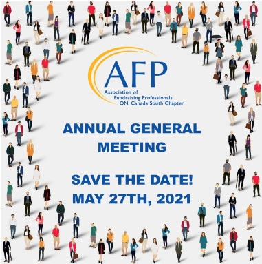 AGM SAVE THE DATE 2021